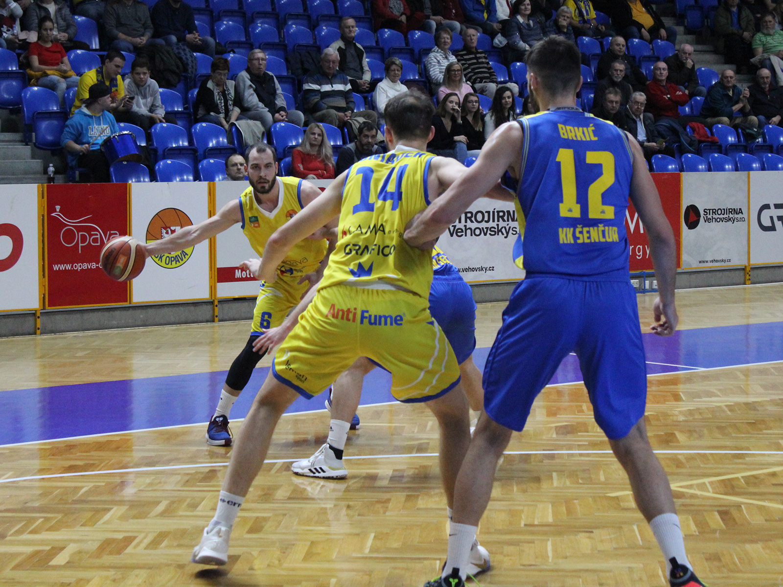 Opava finishes on top of Group C