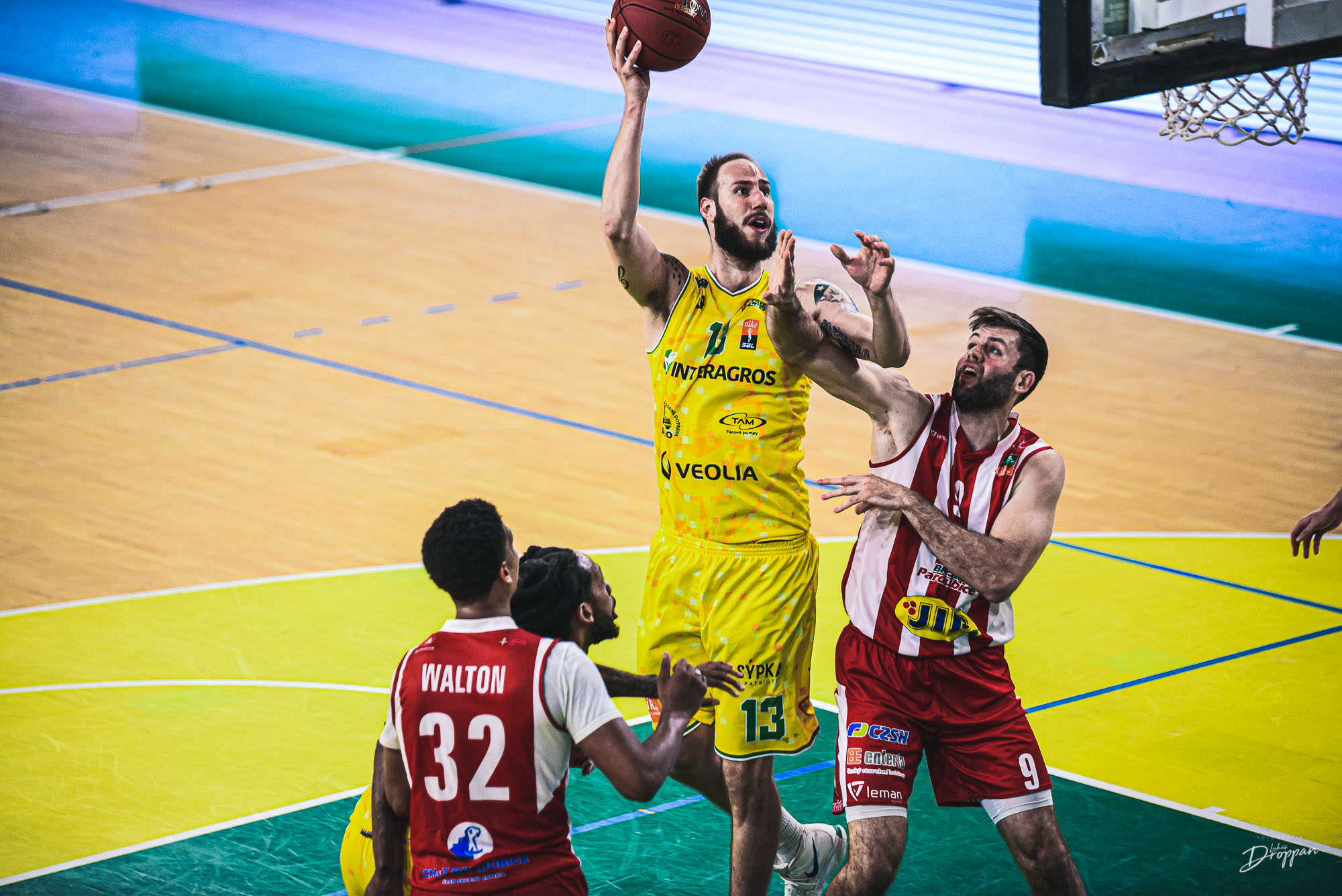 Levice past the reigning champions